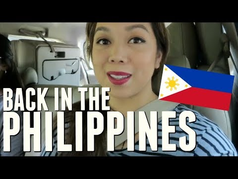 Back in the PHILIPPINES!!!- February 01, 2018 ItsJudysLife Vlogs