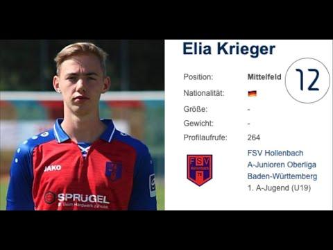 Soccer (men's)   6.3ft Midfielder, Forward   Elia Krieger, Germany   recruit 2021