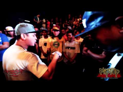 FlipTop - Rapido vs Spade @ Isabuhay Tournament 2