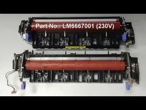 How to replace Fuser Assembly of Brother DCP 8060 Digital Copier/Printer