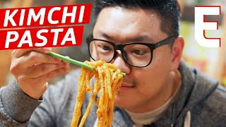 Kimchi Pasta Is the Most Craveable Modern Korean Dish - K-Town