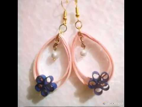 8 Cool and Easy DIY Paper Earrings for Girls