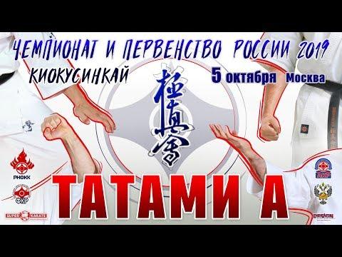 Чемпионат и Первенство России (16-17 лет) по киокушинкай. ТАТАМИ А