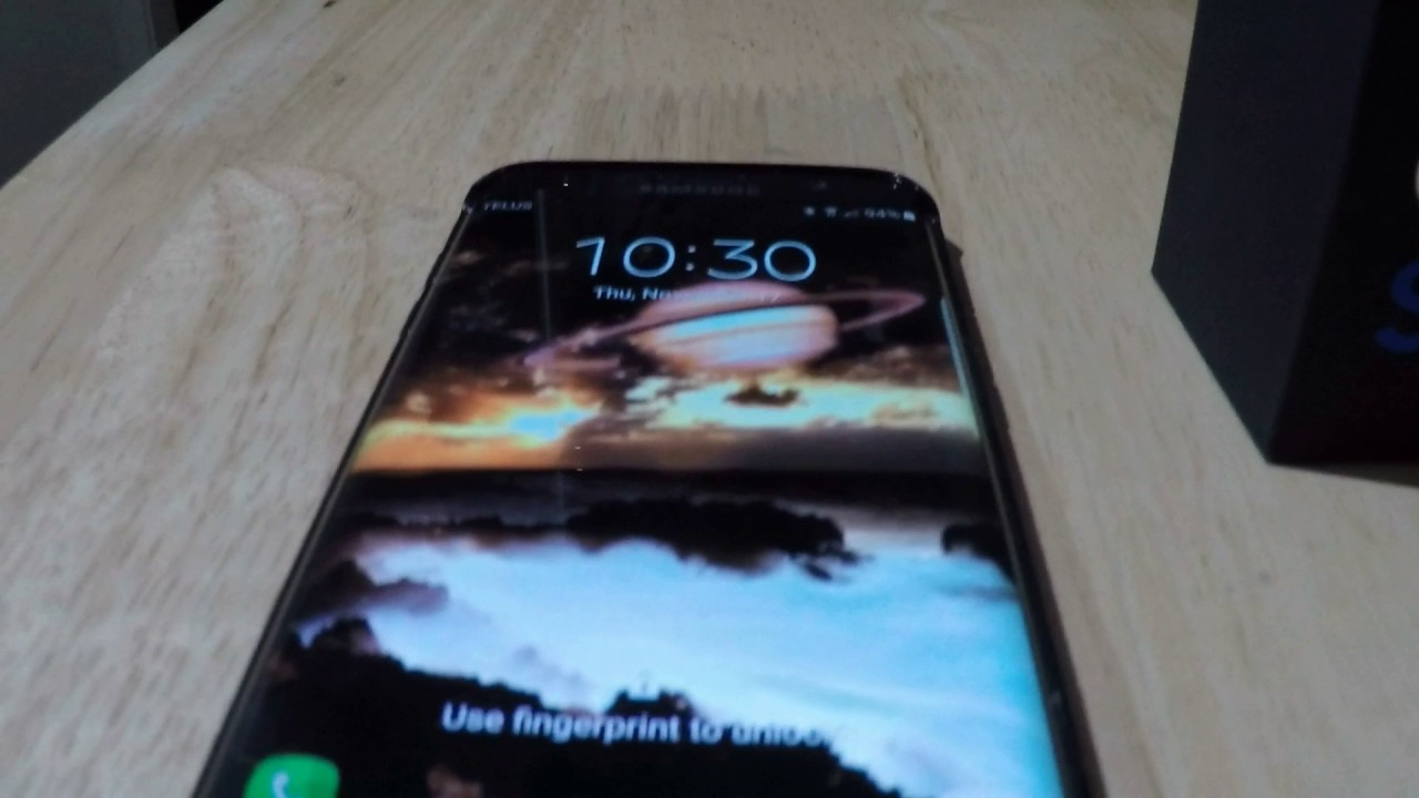 Samsung Galaxy S7 Edge Cracked Screen And NO IMPACT