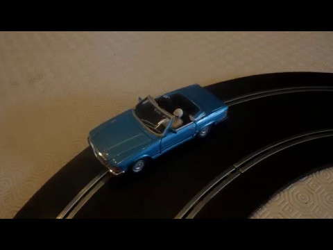 Slot Car 1/32 circuit routier scratch n°9 Scalextric Jouef Carrera Scx Polistil Mercedes 450 SL