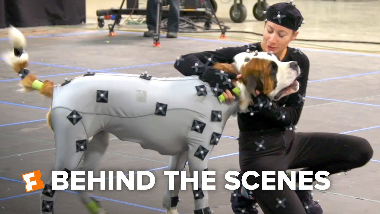 The Call of the Wild Exclusive Behind the Scenes - Dogs in MoCap (2020) | FandangoNOW Extras
