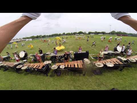 2015 Phantom Regiment Conductor POV: David Warren
