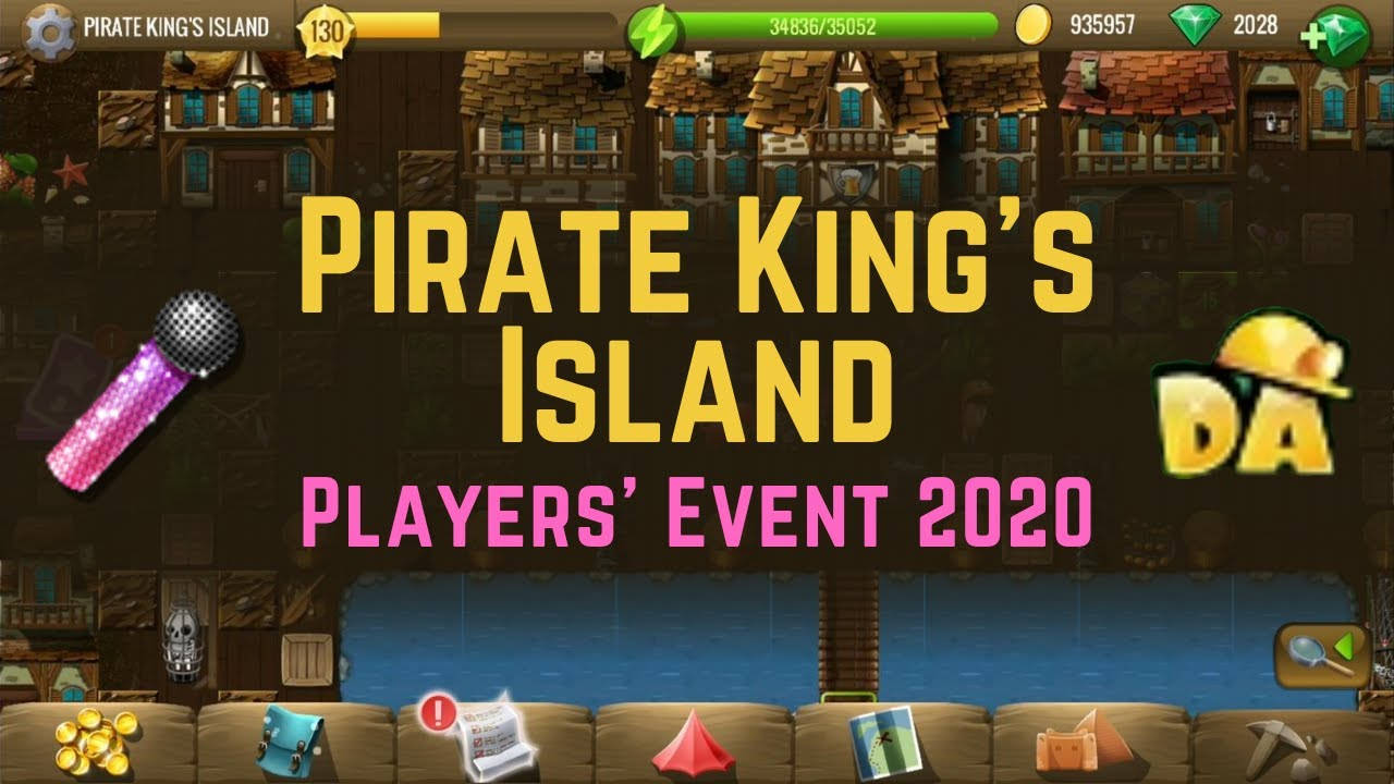 Pirate King's Island   #2 Players' Event 2020   Diggy's Adventure