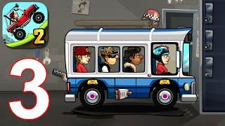 Hill Climb Racing 2: Bus Gameplay Walkthrough Part 3 (iOS, Android)