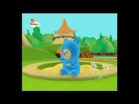 BabyTV Billy and Bam Bam collecting stones english