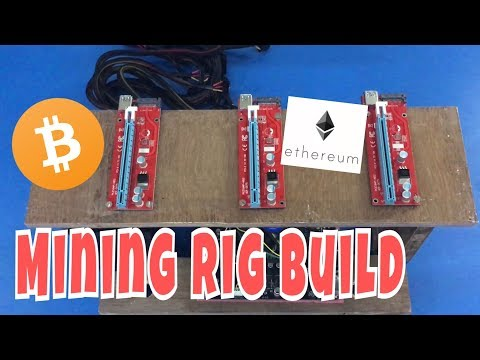 Bitcoin Mining Rig Build (Wooden)