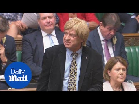 May teases MP Michael Fabricant about Celebrity First Date - Daily Mail