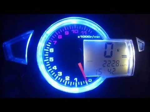 Digital Speedometer Honda Wave Dash 110R Part1