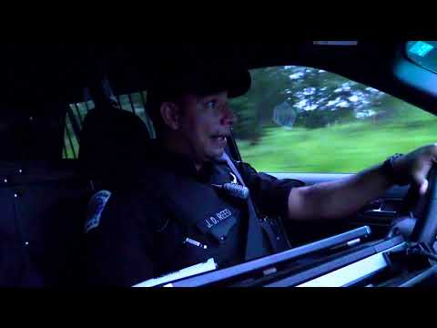 Nighttime Patrolling of Anderson County, SC with Deputy Jon Reed