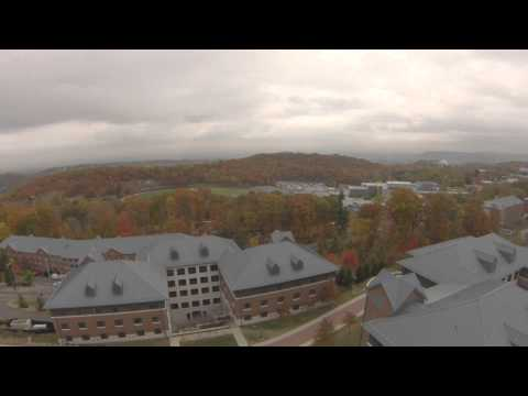 WPU Quad Copter Aerial over High Mountain Dorms