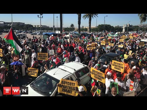 Thousands march in Cape Town to free Palestine