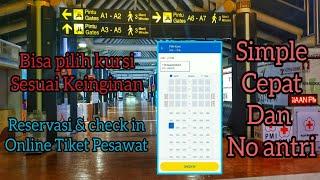 Reservasi  dan Check in online tiket pesawat dengan mudah dan tanpa antri screenshot 3
