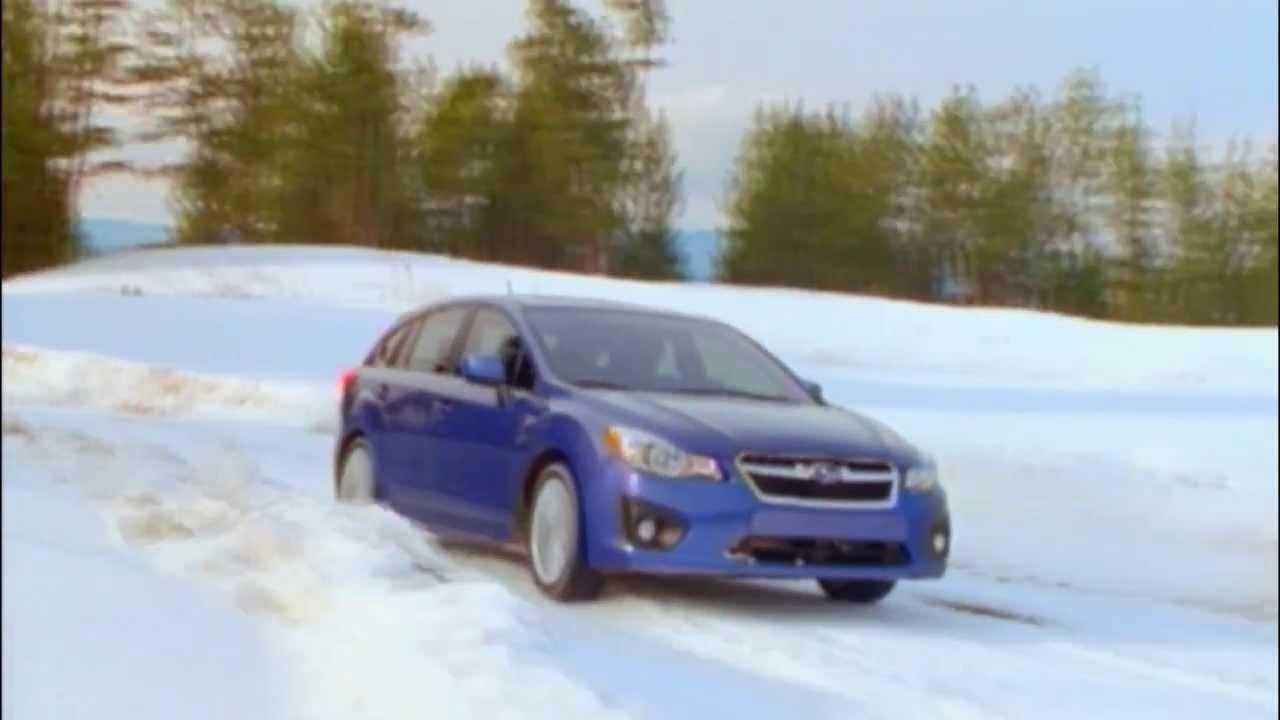 2013 subaru impreza 20i premium on snow automototv youtube 2013 subaru impreza 20i premium on snow automototv vanachro Choice Image