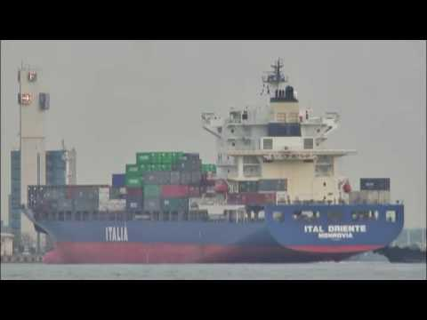 """CONTAINER SHIP M/V """"ITAL ORIENTE"""" (ITALIA MARITTIMA SpA/EVERGREEN)"""