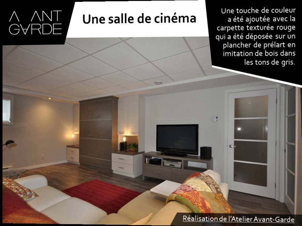 guide pour am nager un sous sol multifonctionnel par l 39 atelier avant garde youtube. Black Bedroom Furniture Sets. Home Design Ideas