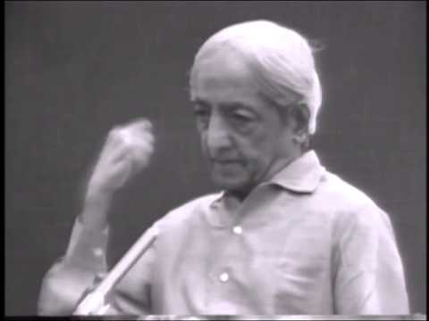 I am discontented with everything. What is wrong with me? | J. Krishnamurti