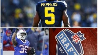 Cover 1 | The Podcast Episode #17 Peppers, Gillislee and the NFL Draft thumbnail