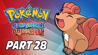 Pokemon Omega Ruby & Alpha Sapphire Walkthrough Part 28 - Mt. Pyre (3DS Commentary)