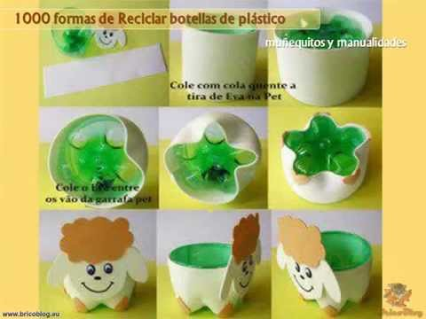 reciclado de botellas de plastico ideas para creativas