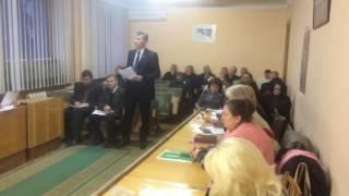 Аппаратное совещание в администрации города Горловка 27.12.2016