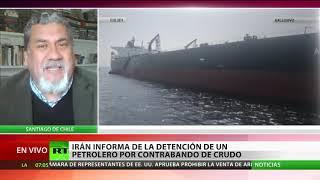 Irán anuncia la detención de un petrolero extranjero por