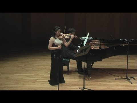 F. Poulenc Sonata for Violin and Piano FP.119 - Vn. Jinjoo Cho