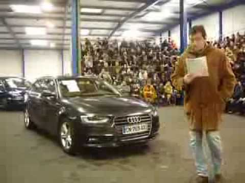 audi a4 avant ste 2 0 tdi 177 ambition luxe aux encheres youtube. Black Bedroom Furniture Sets. Home Design Ideas