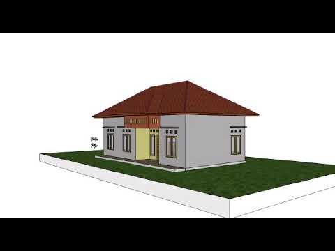 bangunan rumah sederhana - youtube