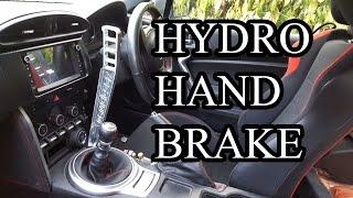 GT86 Mods #13 - Hydraulic Hand Brake (Part 1)