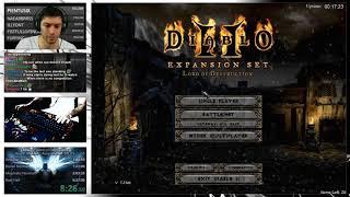 Diablo 2- Hell Hardcose Assassin Speedrun (08/30/2017)