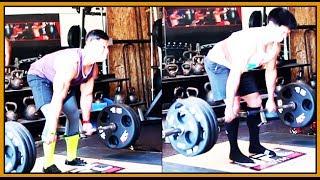 More Deadlifts Nas vs Ryan Technique Comparison - Gym Buddy Problems