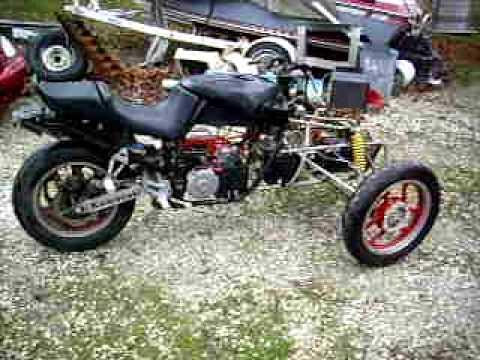 walk around electric reverse trike motorcycle