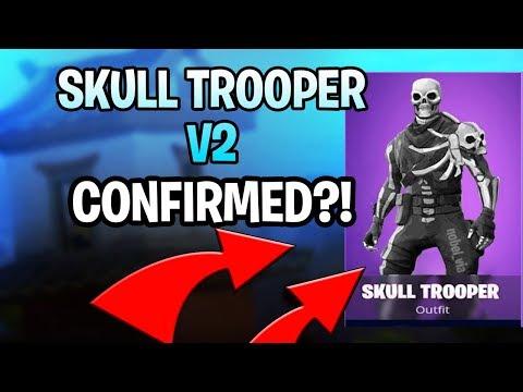 *CONFIRMED!?* SKULL TROOPER V2 COMING OUT SOON? (Upgraded Skull Trooper!) | Fortnite: Battle Royale!