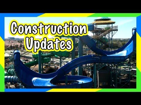 🌋 VOLCANO BAY CONSTRUCTION & BEHIND THE SCENES🌴