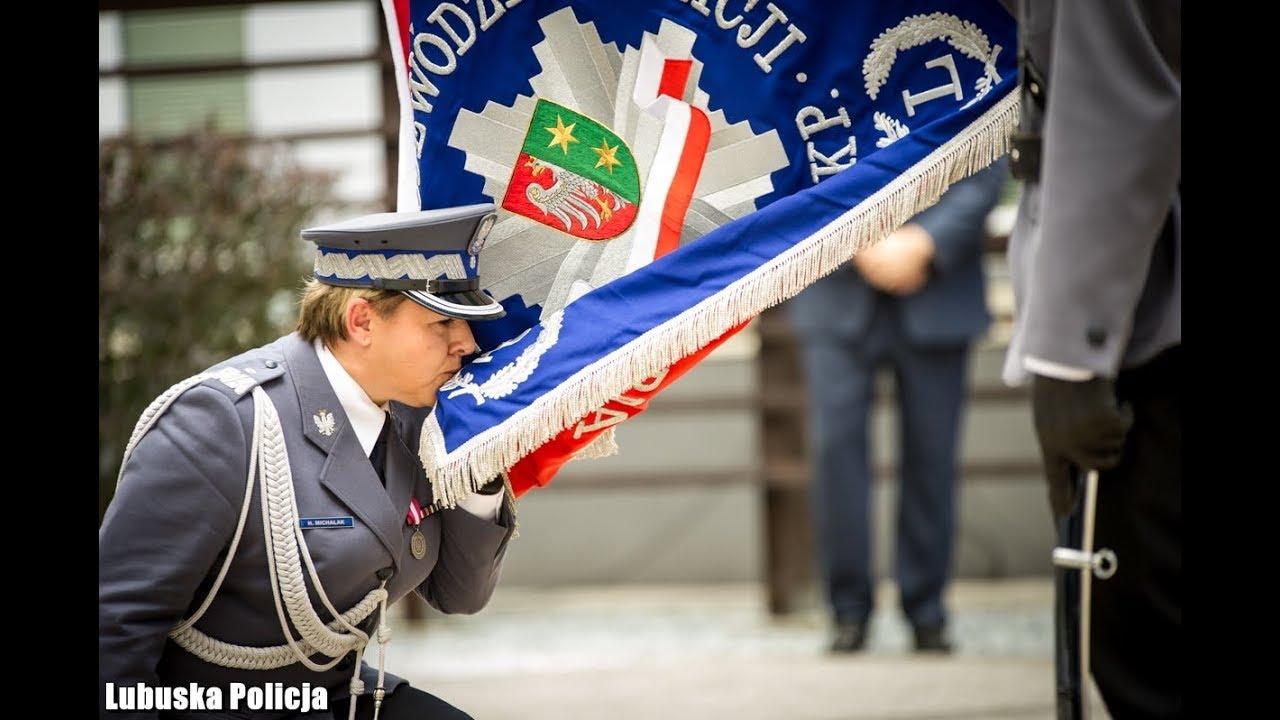 Święto Policji w Gorzowie Wlkp. Nadinsp. Helena Michalak nowym szefem lubuskich policjantów