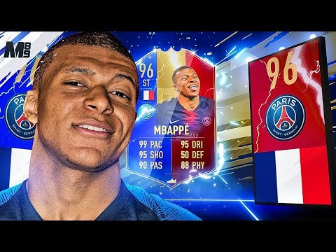 FIFA 19 TOTS MBAPPE REVIEW | 96 TOTS MBAPPE PLAYER REVIEW | FIFA 19 ULTIMATE TEAM