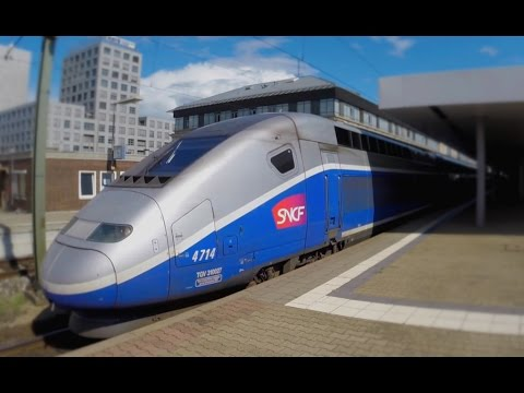 German High Speed Trains at Mannheim Main Station (14.08.2014)
