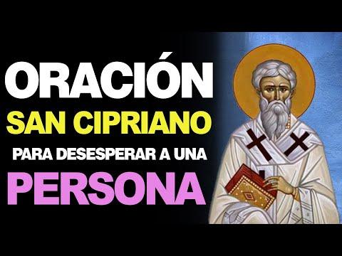 🙏 Oración a San Cipriano para DESESPERAR A UNA PERSONA 🙇♂️