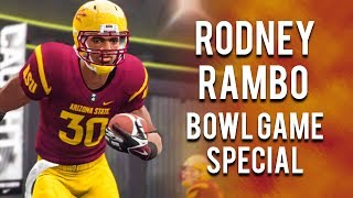 Rodney Rambo's Bowl Game Live Special | NCAA Football 14 Road to Glory