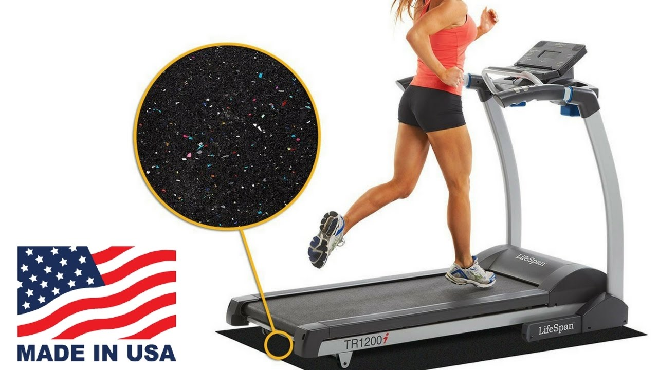 Treadmill Mat For Carpet Reduce Noise