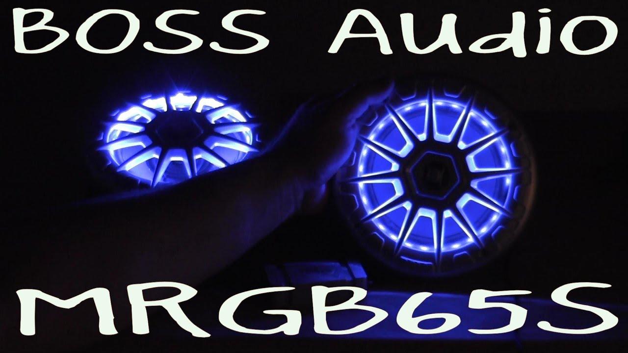 Boss Audio Mrgb65s Out Of The Box Youtube Marine Radio Speakers Wiring