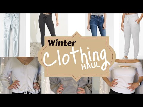 Winter Clothing Try On Haul (with Links)!!!
