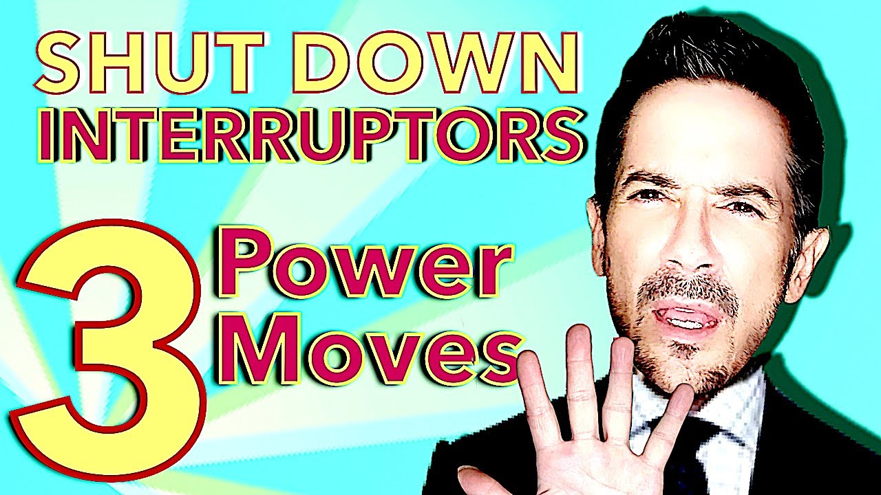 How to Stop People From Interrupting You: The 3-Step Anti-Interruptor from Dan O'Connor