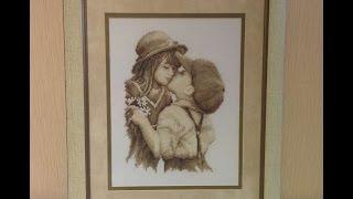 Поцелуй от Vervako - готовая работа