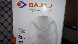 BAJAJ FLORA INSTANT WATER HEATER 3L FULL UNBOXING